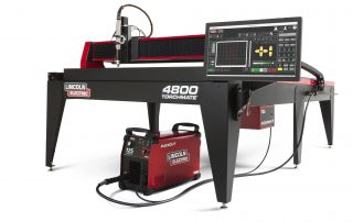 Torchmate 4800 plasma cutting machine a complete system